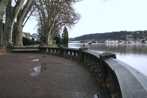 Koblenz, Hochwasser 01/2011